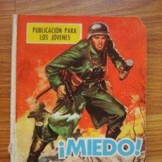 Tebeos: HAZAÑAS BÉLICAS BOIXCAR NÚMERO 109 (TORAY 1969) ¡MIEDO!. Lote 205407805