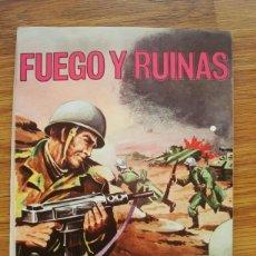 Tebeos: HAZAÑAS BÉLICAS BOIXCAR Nº 110 (FUEGO Y RUINAS) TORAY 1969. Lote 205437103