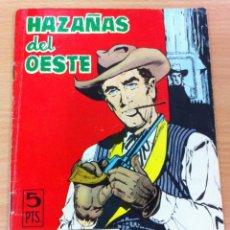 Tebeos: HAZAÑAS DEL OESTE Nº 112, AÑO 1966. CONTRAPORTADA ELKE SOMMER. EDITORIAL TORAY. Lote 101352023