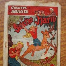 Tebeos: EL SUEÑO DE MARILI (CUENTOS DE LA ABUELITA Nº 17) TORAY 1949. Lote 205533571