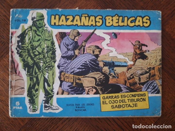 HAZAÑAS BÉLICAS GARRAS ESCONDIDAS Nº78 (Tebeos y Comics - Toray - Hazañas Bélicas)