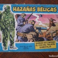 Tebeos: HAZAÑAS BÉLICAS GARRAS ESCONDIDAS Nº78. Lote 205588872