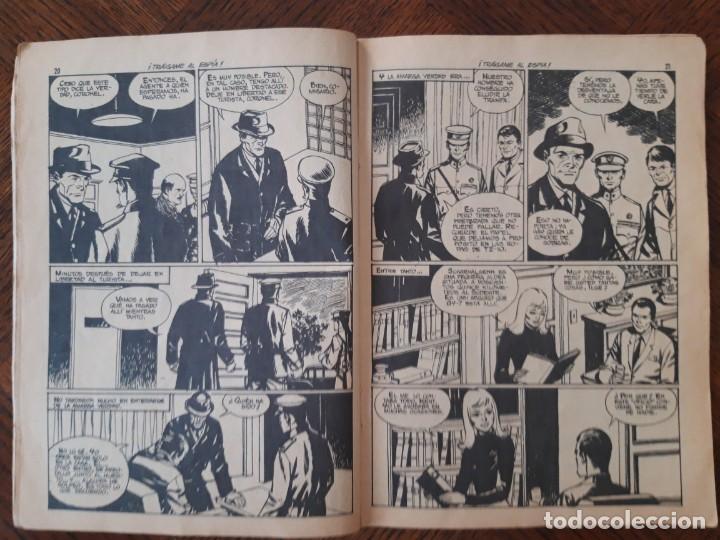 Tebeos: Novela gráfica Espionaje Traigame al espia - Foto 2 - 205589161