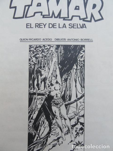 Tebeos: CÓMIC TAMAR REY DE LA SELVA. Ed. TORAY. - Foto 2 - 205593522