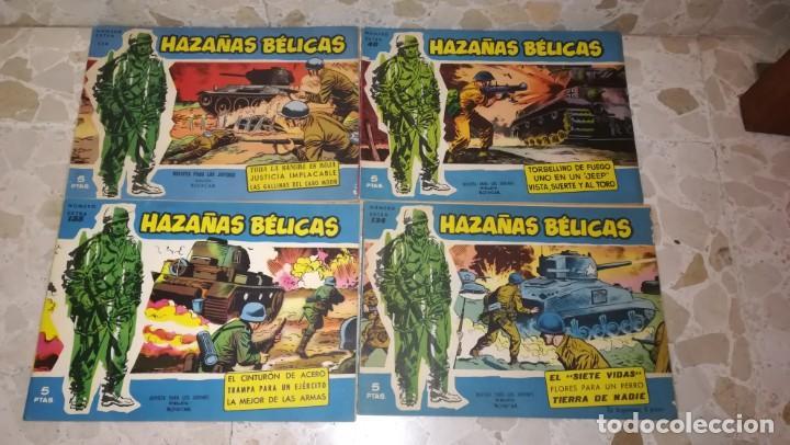 LOTE 18 COMICS HAZAÑAS BELICAS (Tebeos y Comics - Toray - Hazañas Bélicas)