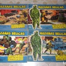 Tebeos: LOTE 18 COMICS HAZAÑAS BELICAS. Lote 205598275
