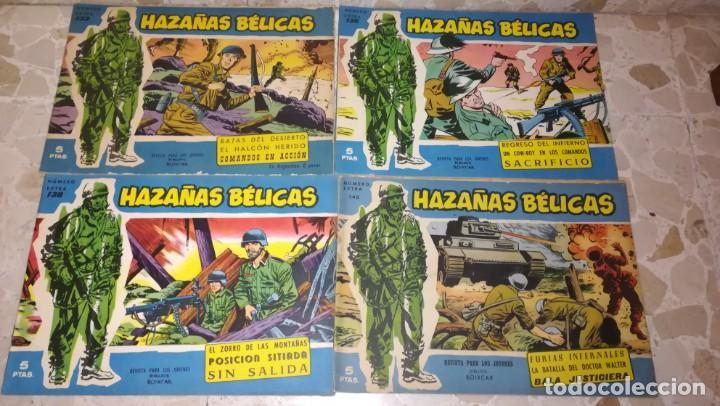 Tebeos: LOTE 18 COMICS HAZAÑAS BELICAS - Foto 2 - 205598275