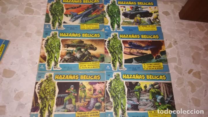 Tebeos: LOTE 18 COMICS HAZAÑAS BELICAS - Foto 3 - 205598275