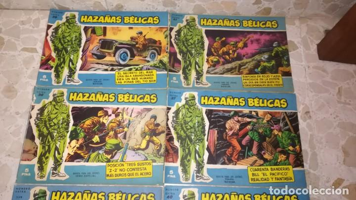 Tebeos: LOTE 18 COMICS HAZAÑAS BELICAS - Foto 4 - 205598275