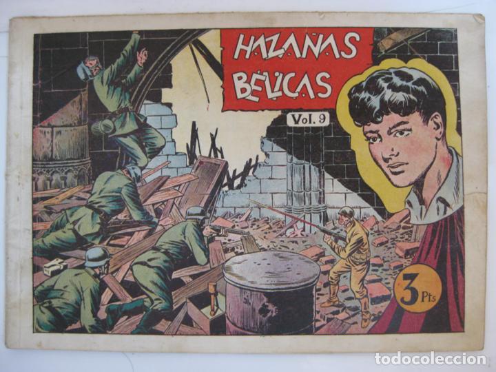 HAZAÑAS BELICAS - ALBUM VOL.9 - ULTIMO DE LA COLECCION (Tebeos y Comics - Toray - Hazañas Bélicas)