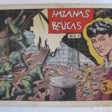 Tebeos: HAZAÑAS BELICAS - ALBUM VOL.9 - ULTIMO DE LA COLECCION. Lote 205698945