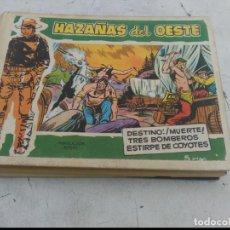 Tebeos: HAZAÑAS DEL OESTE.TOMO DE 10 TEBEOS DE TAPA DURA.TORAY. Lote 205715758