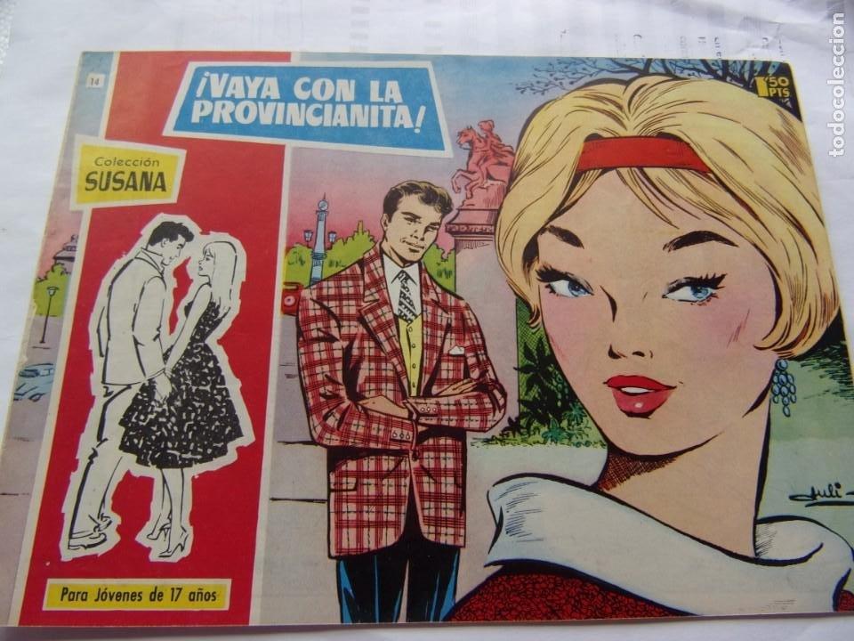 COLECCIÓ SUSANA NÚM. 14 ¡ VAYA CON LA PROVINCIANITA ! (Tebeos y Comics - Toray - Susana)