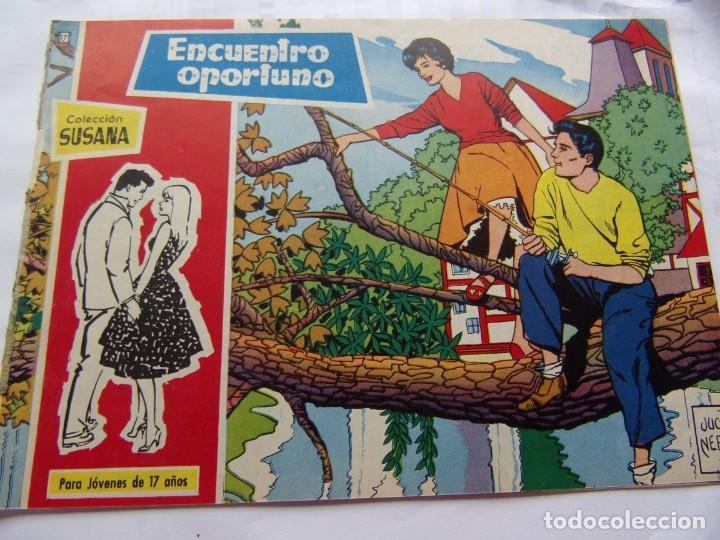 COLECCIÓ SUSANA NÚM. 17 ENCUENTRO OPORTUNO (Tebeos y Comics - Toray - Susana)