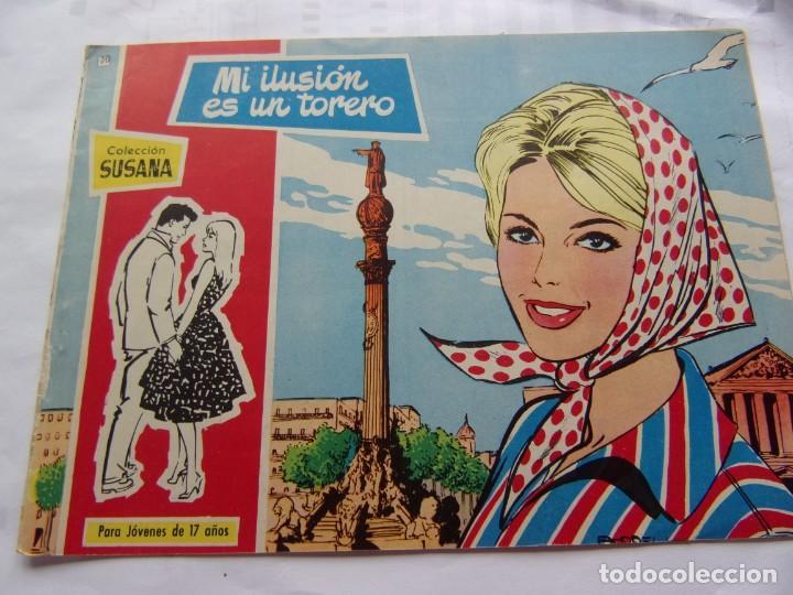 COLECCIÓ SUSANA NÚM. 20 MI ILUSIÓN ES UN TORERO (Tebeos y Comics - Toray - Susana)