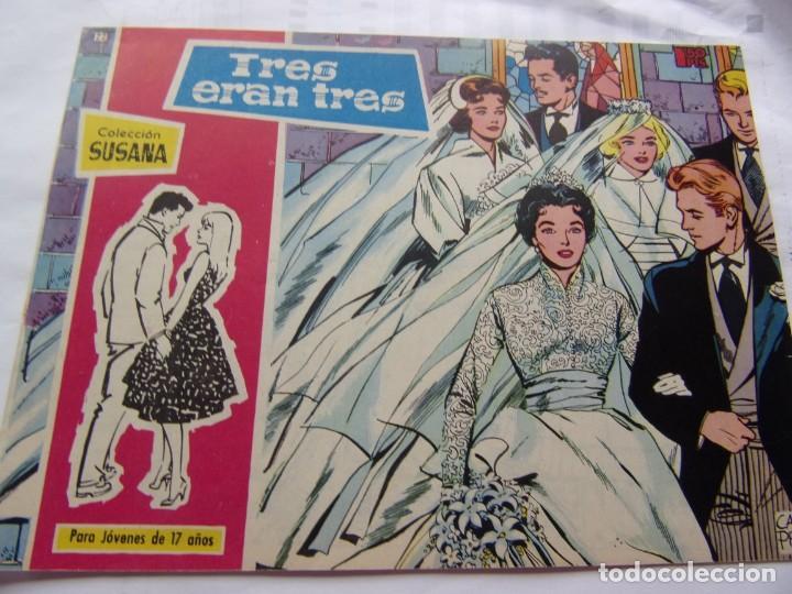 COLECCIÓ SUSANA NÚM. 22 TRES ERAN TRES (Tebeos y Comics - Toray - Susana)