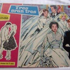 Tebeos: COLECCIÓ SUSANA NÚM. 22 TRES ERAN TRES. Lote 205865520