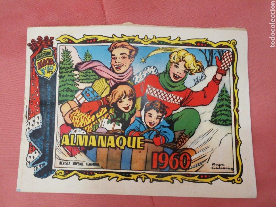 ALICIA. ALMANAQUE 1960. MUY BUEN ESTADO. (Tebeos y Comics - Toray - Alicia)