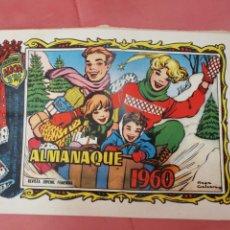 Tebeos: ALICIA. ALMANAQUE 1960. MUY BUEN ESTADO.. Lote 206123905