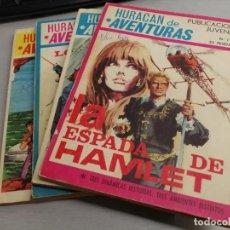 Tebeos: HURACÁN DE AVENTURAS / COMPLETO 4 NÚMEROS / EDICIONES TORAY 1969. Lote 206261072