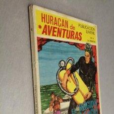 Tebeos: HURACÁN DE AVENTURAS Nº 4 / TORAY 1969. Lote 206265322