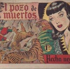 Tebeos: FLECHA NEGRA Nº 16: EL POZO DE LOS DESEOS. Lote 206358093