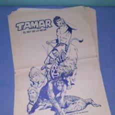Tebeos: 28 LAMINAS POSTER DE TAMAR ( TARZAN ) EL REY DE LA SELVA CREADO POR ANTONIO BORRELL EDICIONES TORAY. Lote 206437963