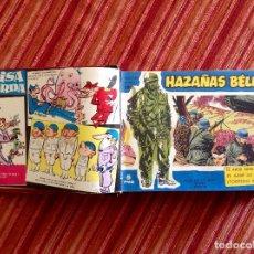 Tebeos: HAZAÑAS BÉLICAS-SERIE AZUL-BOIXCAR-NÚMEROS 100 A 119 Y ALM.1963-ENC EN UN TOMO-AÑOS 60. Lote 206562115