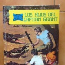 Tebeos: FAMOSAS NOVELAS Nº 8 - LOS HIJOS DEL CAPITÁN GRANT - JULIO VERNE - CON PAGINAS DE COMIC - TORAY. Lote 206827507