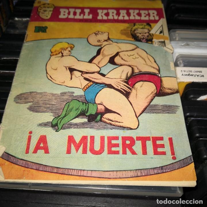 BILL KRAKER. Nº 11. A MUERTE - EDICIONES TORAY, (Tebeos y Comics - Toray - Otros)