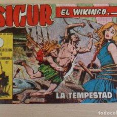 Tebeos: SIGUR EL WIKINGO Nº 8. ORIGINAL. LA TEMPESTAD. EDITA TORAY. BUEN ESTADO. Lote 207013833