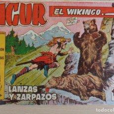 Tebeos: SIGUR EL WIKINGO Nº 9. ORIGINAL. LANZAS Y ZARPAZOS. EDITA TORAY.. Lote 207013967