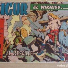 Tebeos: SIGUR EL WIKINGO Nº 10. ORIGINAL. EL RESCATE. EDITA TORAY.. Lote 207014155