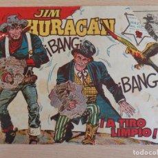 Tebeos: JIM HURACÁN Nº 25. A TIRO LIMPIO. ORIGINAL. EDITA TORAY.. Lote 207017620