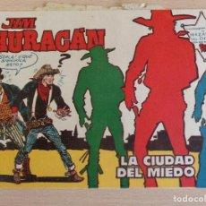 Tebeos: JIM HURACÁN Nº 21. LA CIUDAD DEL MIEDO. ORIGINAL. EDITA TORAY.. Lote 207018165