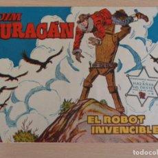 Tebeos: JIM HURACÁN Nº 28. EL ROBOT INVENCIBLE. ORIGINAL. EDITA TORAY. BUEN ESTADO. Lote 207018445