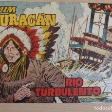 Tebeos: JIM HURACÁN Nº 34. RIO TURBULENTO. ORIGINAL. EDITA TORAY. BUEN ESTADO. Lote 207018567