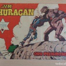 Tebeos: JIM HURACÁN Nº 39. ORO PELIGROSO. ORIGINAL. EDITA TORAY.. Lote 207018850