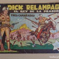 BDs: DICK RELÁMPAGO Nº 1. ORIGINAL. TRES CAMARADAS. TORAY. Lote 207023573