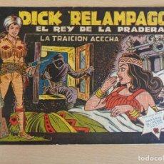BDs: DICK RELÁMPAGO Nº 8. ORIGINAL. LA TRAICIÓN ACECHA. TORAY. BUEN ESTADO. Lote 207023726