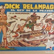 BDs: DICK RELÁMPAGO Nº 22. ORIGINAL. A LA DESESPERADA. TORAY. BUEN ESTADO. Lote 207024113