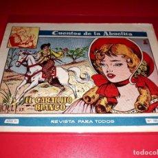 Tebeos: CUENTOS DE LA ABUELITA Nº 220 AÑO 1955 TORAY. Lote 207105491
