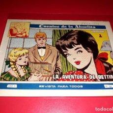 Tebeos: CUENTOS DE LA ABUELITA Nº 237 AÑO 1955 TORAY. Lote 207106905