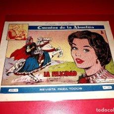 Tebeos: CUENTOS DE LA ABUELITA Nº 240 AÑO 1955 TORAY. Lote 207123836
