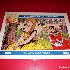 Tebeos: CUENTOS DE LA ABUELITA Nº 260 AÑO 1955 TORAY. Lote 207125003