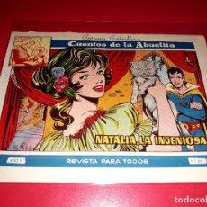 Tebeos: CUENTOS DE LA ABUELITA Nº 271 AÑO 1955 TORAY. Lote 207125235