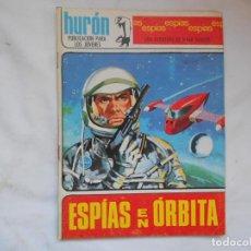 Tebeos: HURON Nº 24 - ESPIAS - ESPIAS EN ORBITA - TORAY - AÑOS 60. Lote 207143213