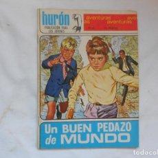 Tebeos: HURON Nº 61 - AVENTURAS - UN BUEN PEDAZO DE MUNDO - TORAY - AÑOS 60. Lote 207143281