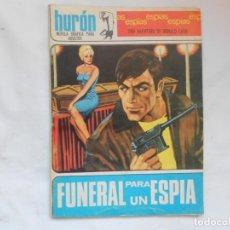 Tebeos: HURON Nº 5 - ESPIAS - FUNERAL PARA UN ESPIA - TORAY - AÑOS 60. Lote 207143351