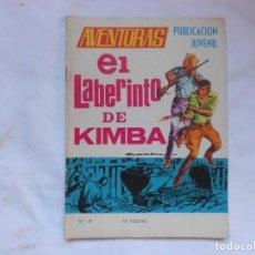 Tebeos: AVENTURAS Nº 39 - EL LABERINTO DE KIMBA - TORAY - AÑOS 60. Lote 207164540